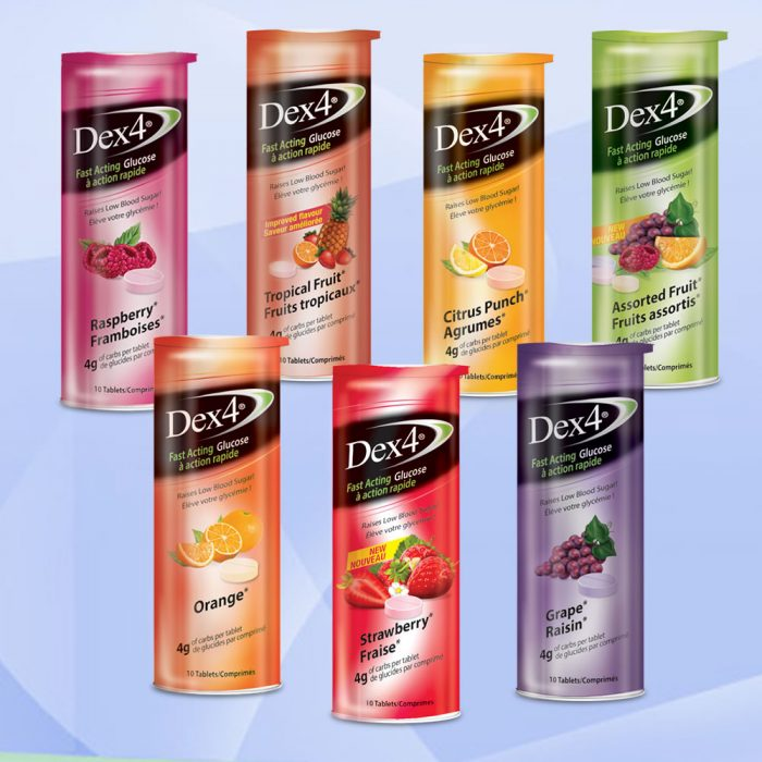 Dex4® - Comprimés de glucose en tube