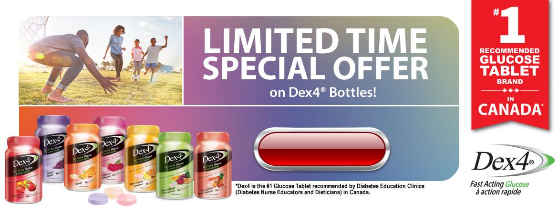 Dex4 – Fast Acting Glucose