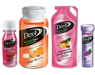 Dex4 Glucose is available in Tablets, Liquids & Gels